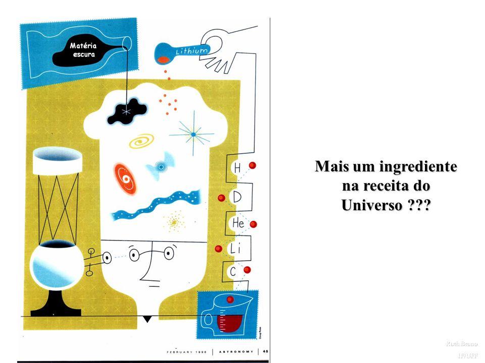 Mais um ingrediente na receita do Universo