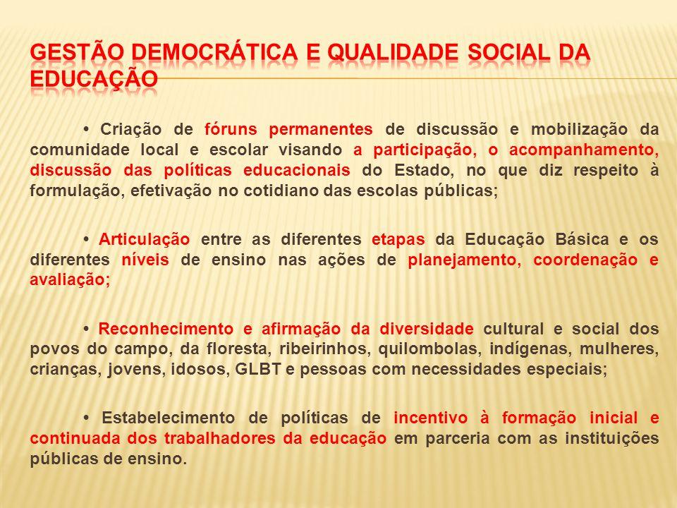 Gestão democrática e qualidade social da educação
