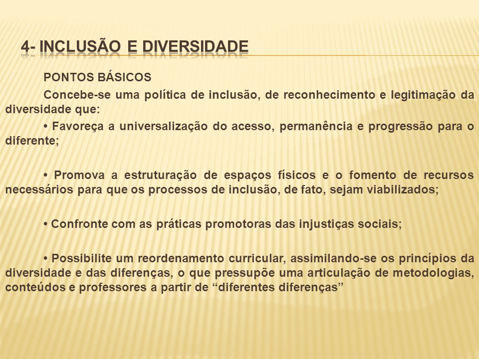 4- INCLUSÃO E DIVERSIDADE