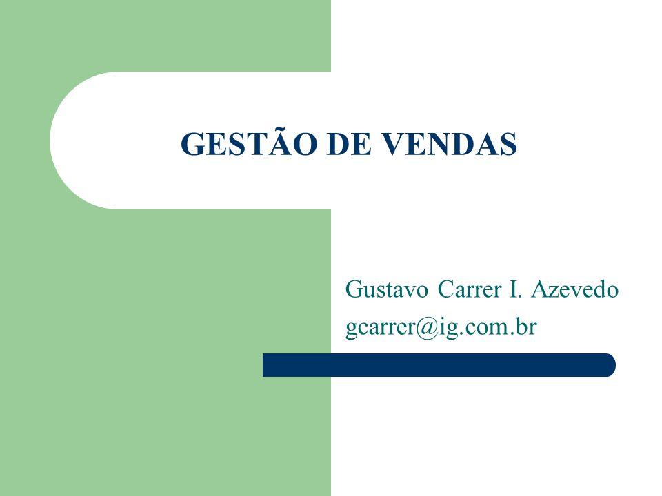 Gustavo Carrer I. Azevedo gcarrer@ig.com.br