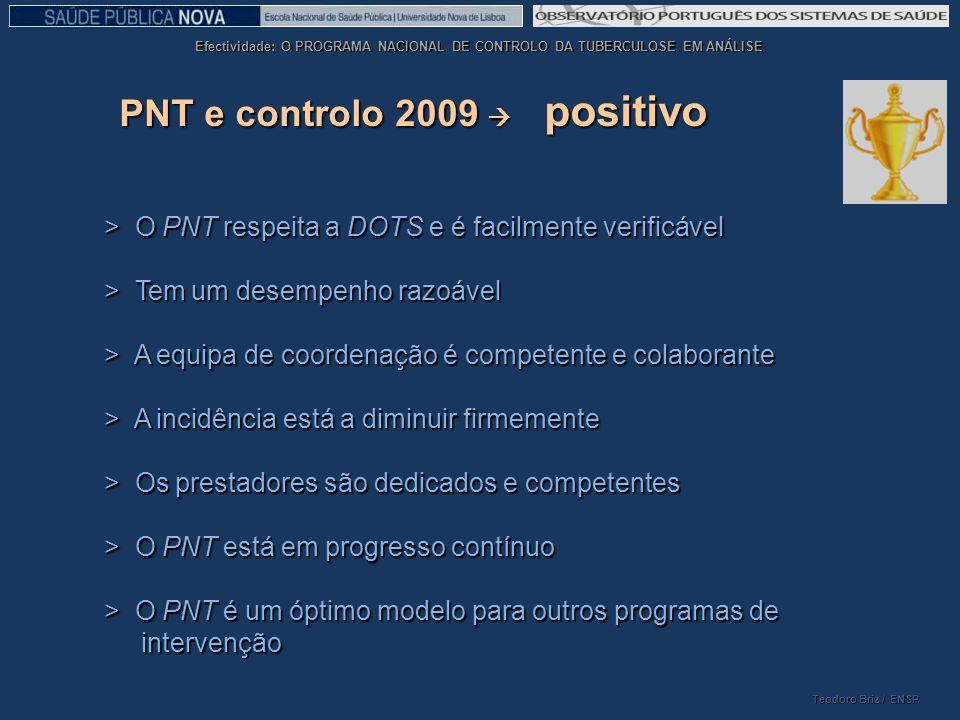PNT e controlo 2009  positivo