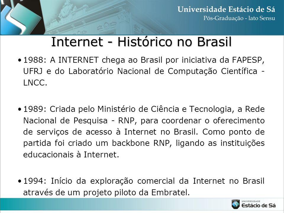 Internet - Histórico no Brasil