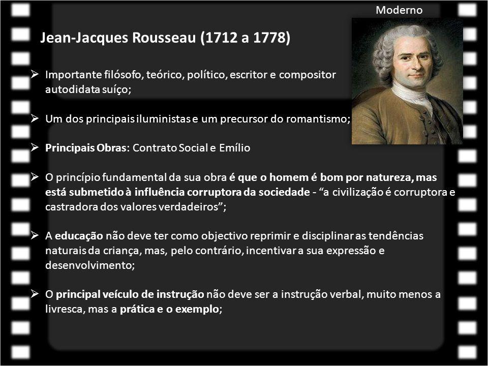 Jean-Jacques Rousseau (1712 a 1778)