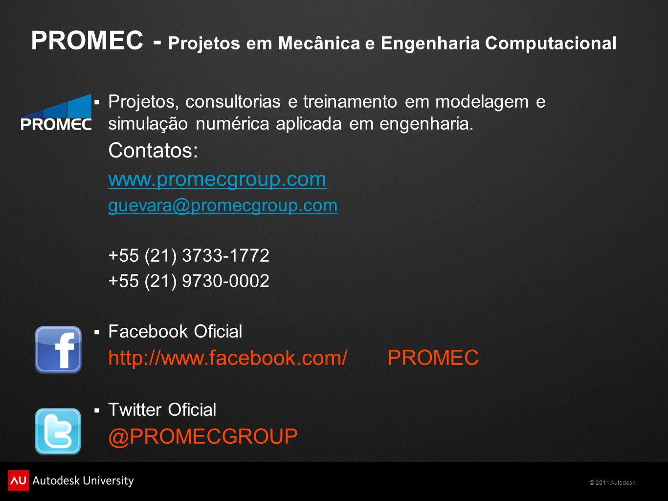 PROMEC - Projetos em Mecânica e Engenharia Computacional