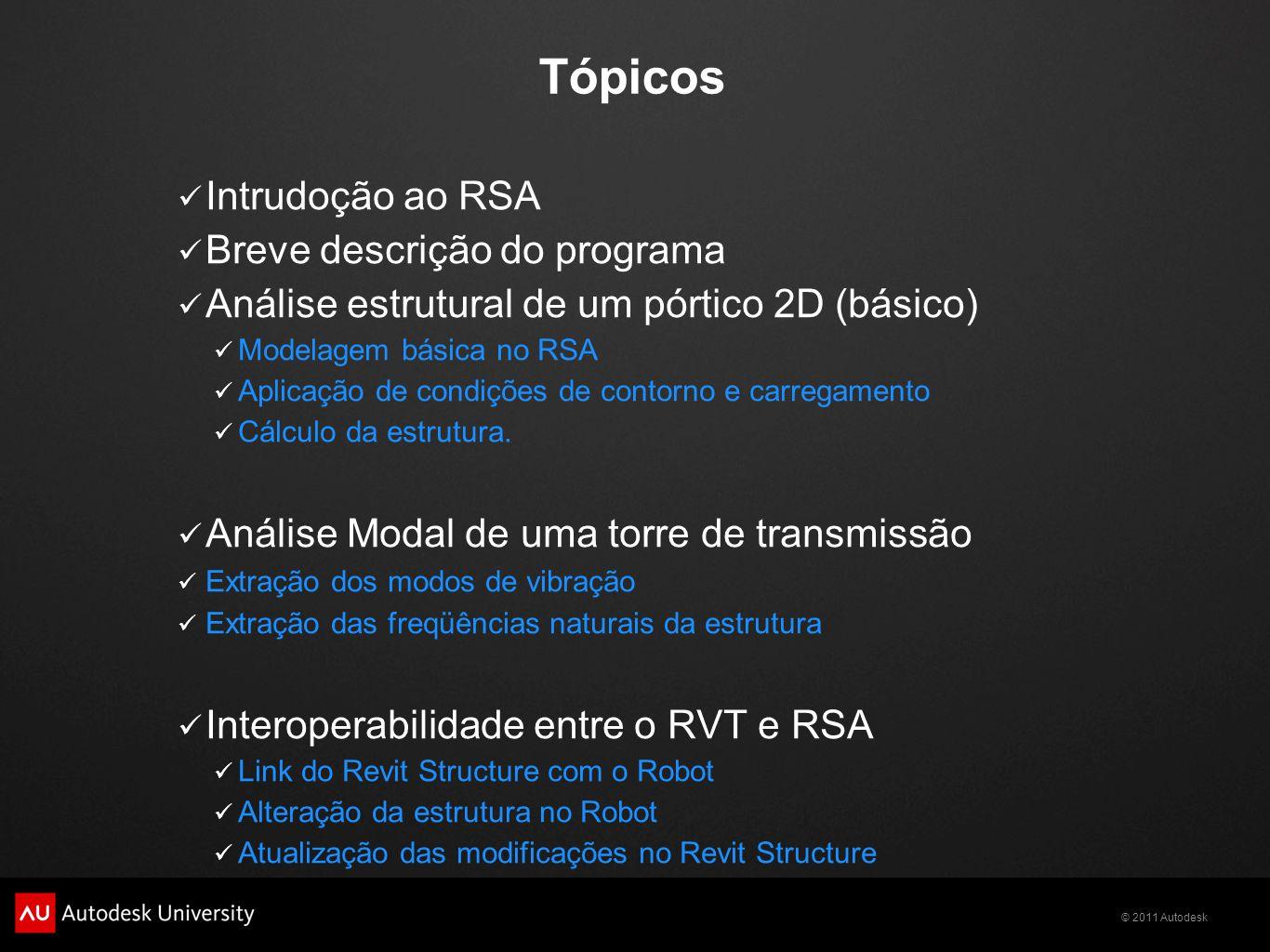 Tópicos Intrudoção ao RSA Breve descrição do programa