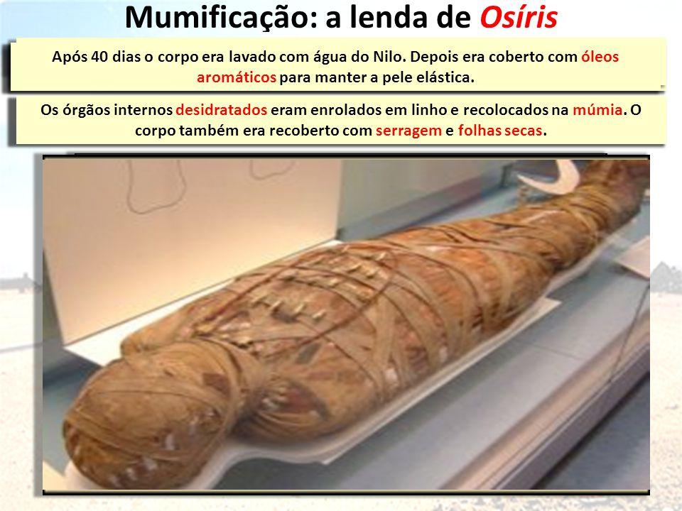 Mumificação: a lenda de Osíris