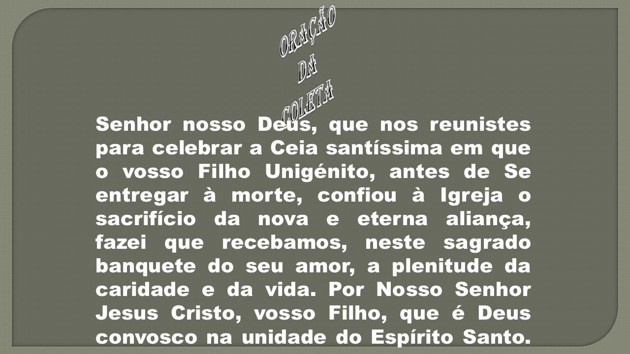 ORAÇÃO DA. COLETA.