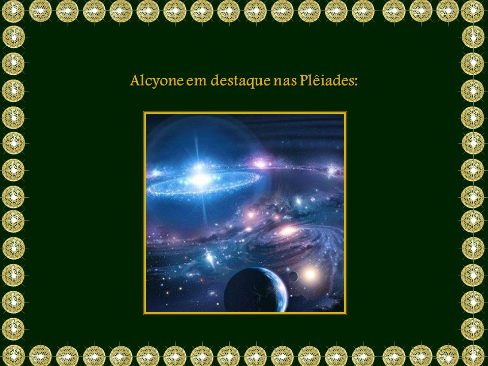 Alcyone em destaque nas Plêiades: