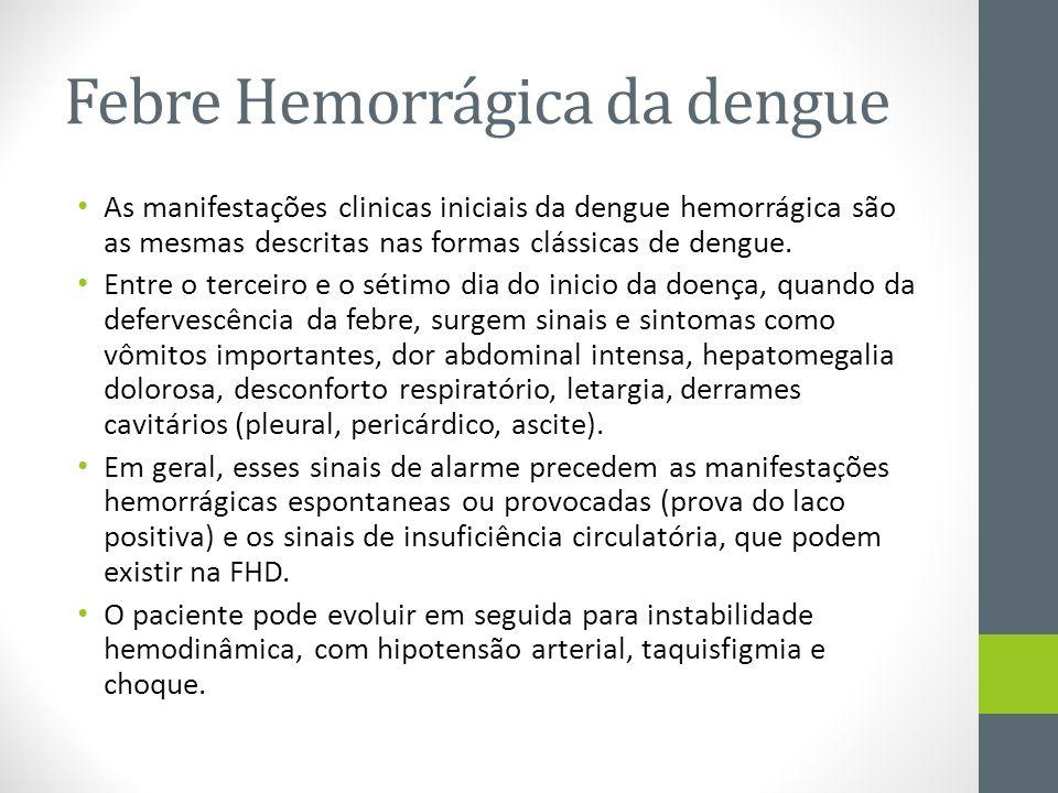 Febre Hemorrágica da dengue
