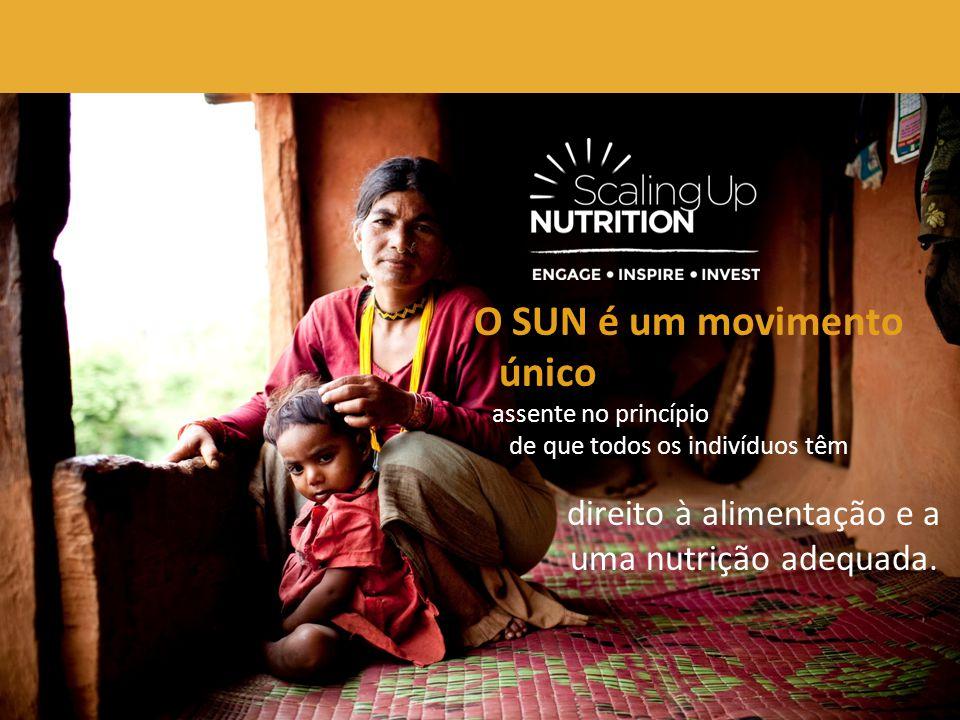 O SUN é um movimento direito à alimentação e a uma nutrição adequada.