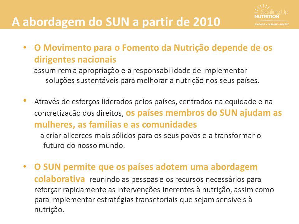 A abordagem do SUN a partir de 2010