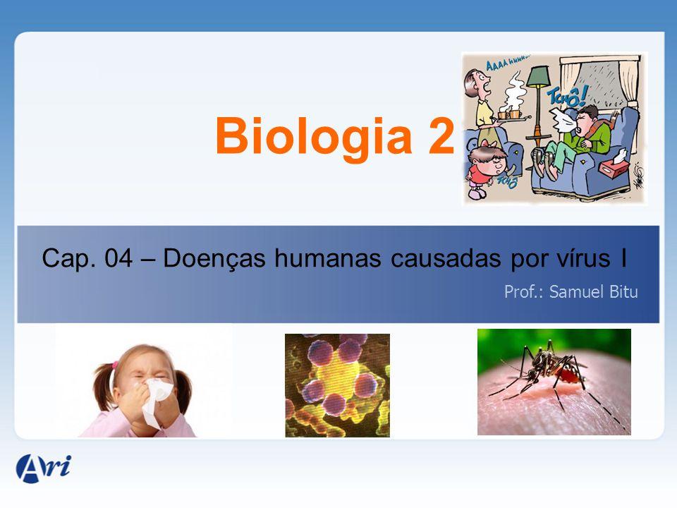 Biologia 2 Cap. 04 – Doenças humanas causadas por vírus I