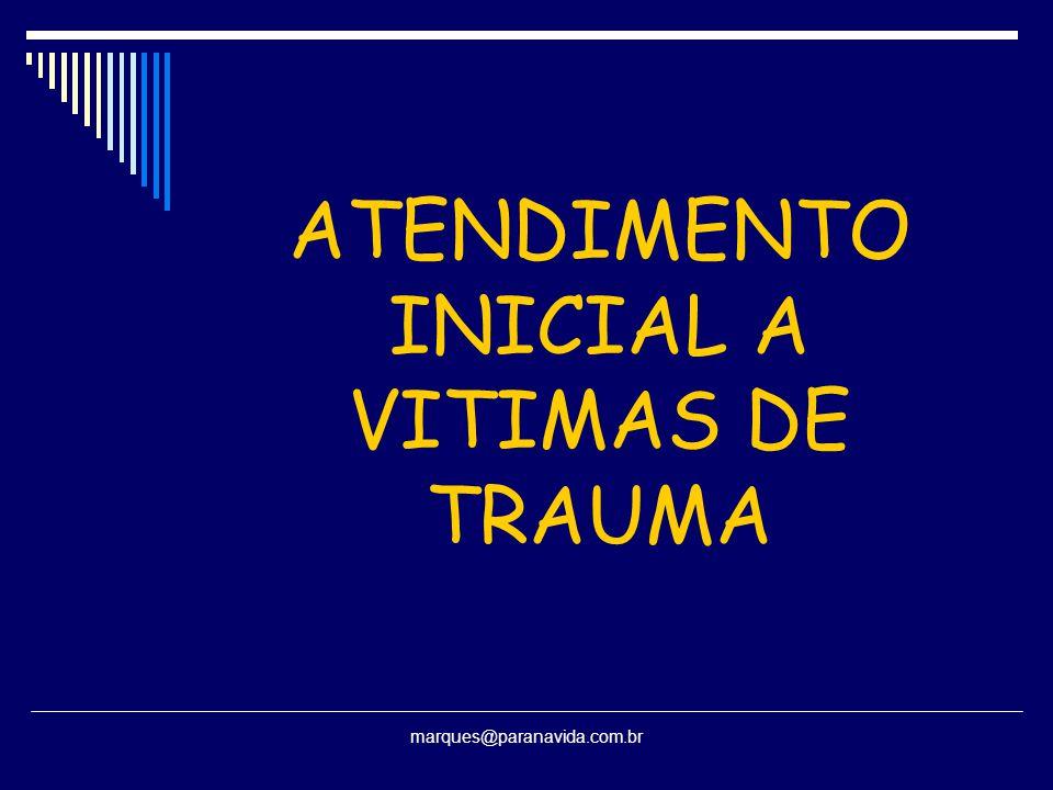 ATENDIMENTO INICIAL A VITIMAS DE TRAUMA