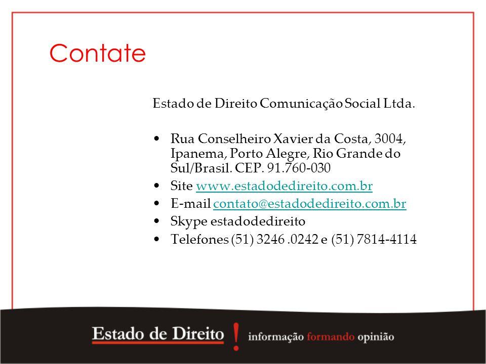 Contate Estado de Direito Comunicação Social Ltda.