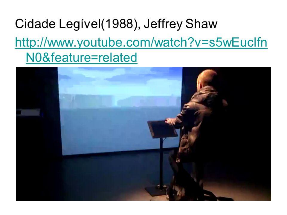Cidade Legível(1988), Jeffrey Shaw