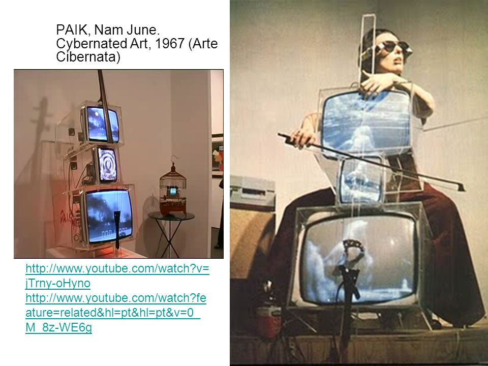 PAIK, Nam June. Cybernated Art, 1967 (Arte Cibernata)