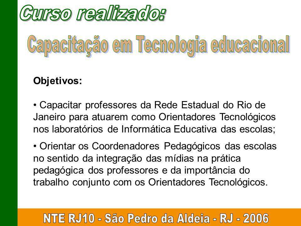 Capacitação em Tecnologia educacional