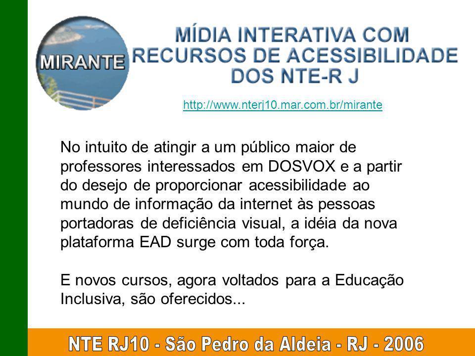 NTE RJ10 - São Pedro da Aldeia - RJ - 2006