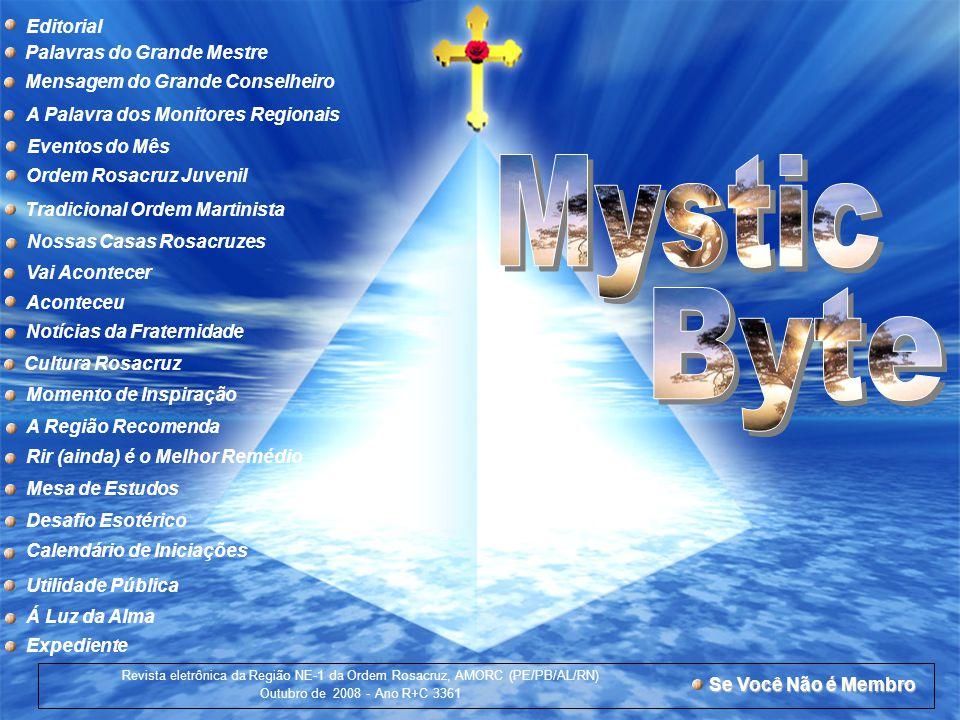 Mystic Byte Editorial Palavras do Grande Mestre