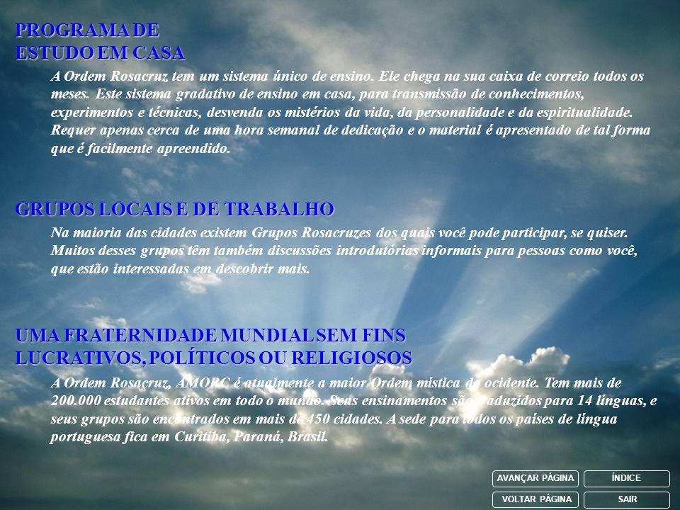 PROGRAMA DE ESTUDO EM CASA