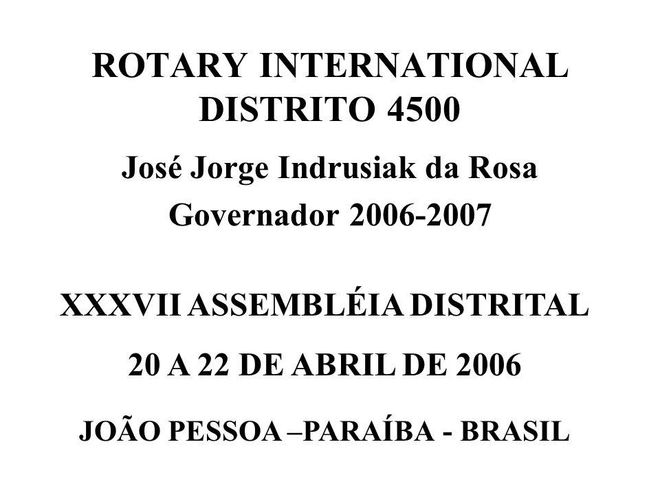 ROTARY INTERNATIONAL DISTRITO 4500