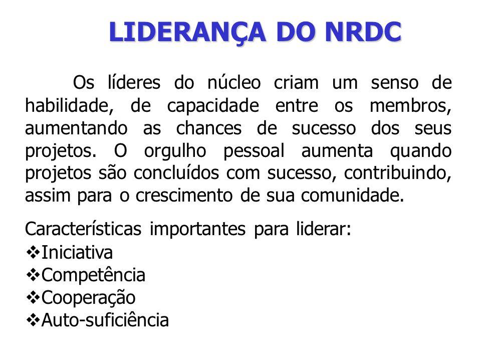 LIDERANÇA DO NRDC