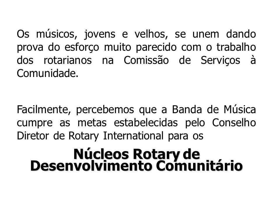 Núcleos Rotary de Desenvolvimento Comunitário