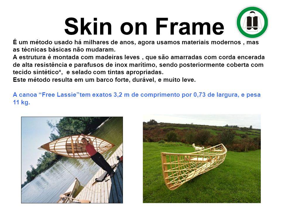 Skin on Frame Método de construção dos Barcos :