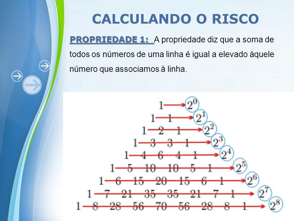 CALCULANDO O RISCO
