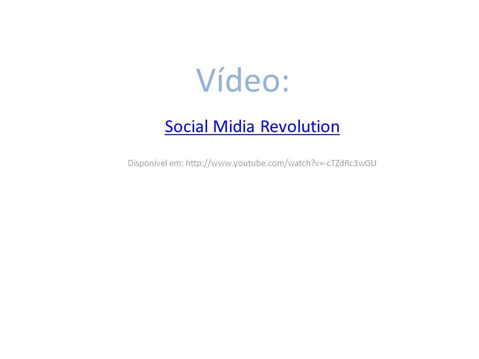 Vídeo: Social Midia Revolution