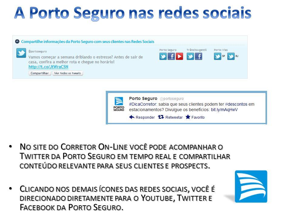 A Porto Seguro nas redes sociais
