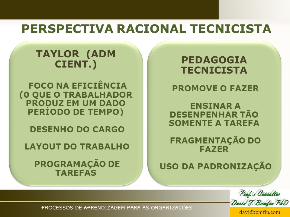 PERSPECTIVA RACIONAL TECNICISTA