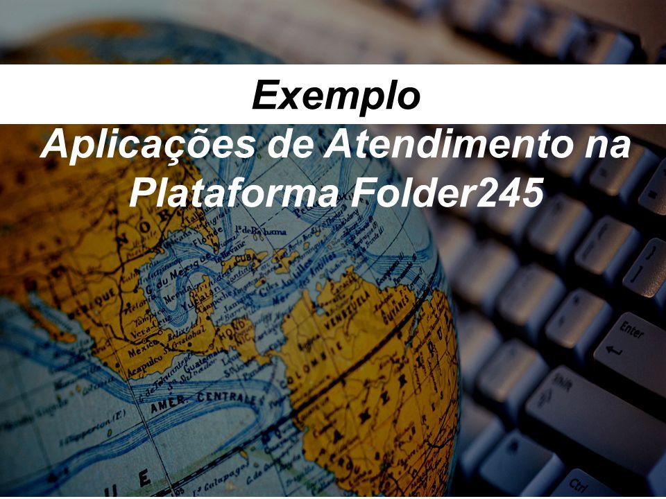 Exemplo Aplicações de Atendimento na Plataforma Folder245