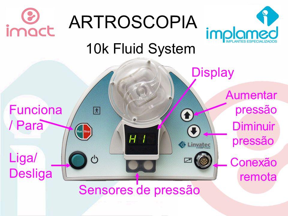 ARTROSCOPIA 10k Fluid System Display Funciona / Para Liga/ Desliga