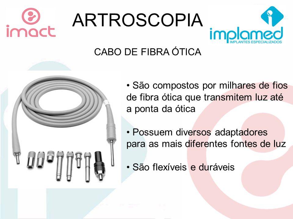 ARTROSCOPIA CABO DE FIBRA ÓTICA