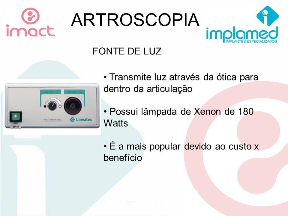 ARTROSCOPIA FONTE DE LUZ