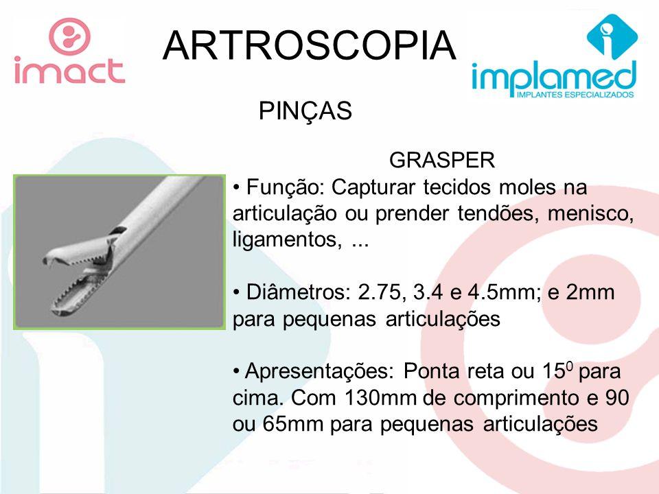 ARTROSCOPIA PINÇAS GRASPER