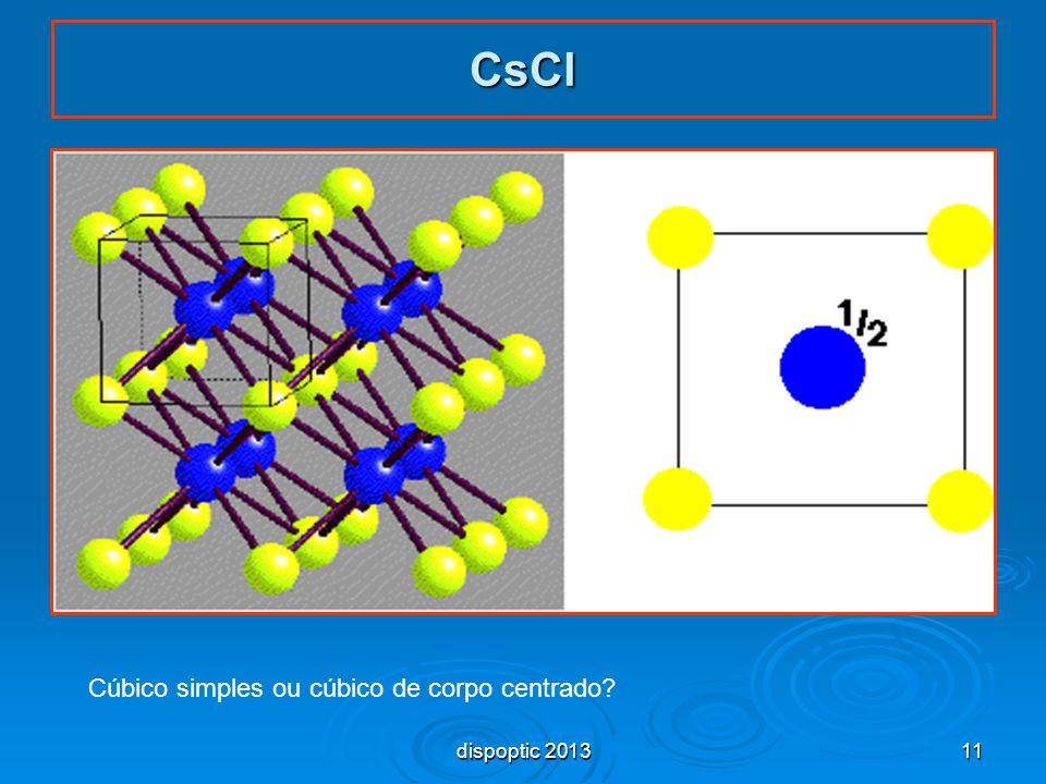 Cúbico simples ou cúbico de corpo centrado