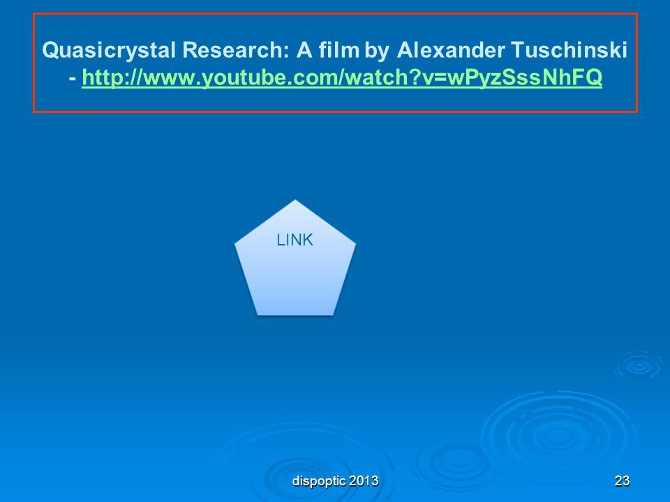 Quasicrystal Research: A film by Alexander Tuschinski - http://www