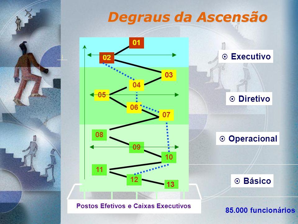 Postos Efetivos e Caixas Executivos