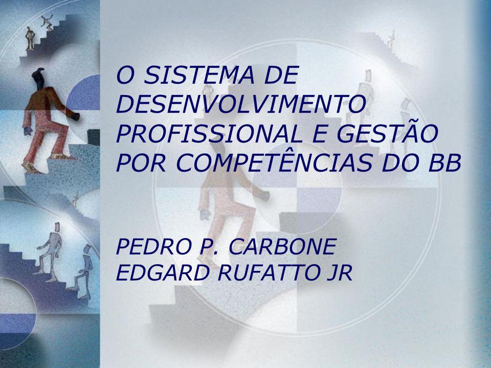 O SISTEMA DE DESENVOLVIMENTO PROFISSIONAL E GESTÃO POR COMPETÊNCIAS DO BB PEDRO P.