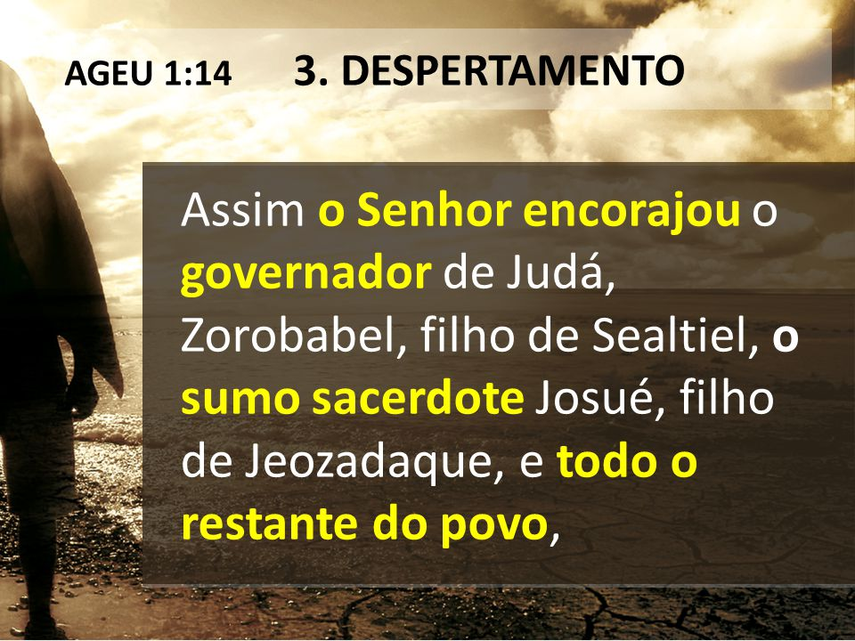 AGEU 1:14 3. DESPERTAMENTO