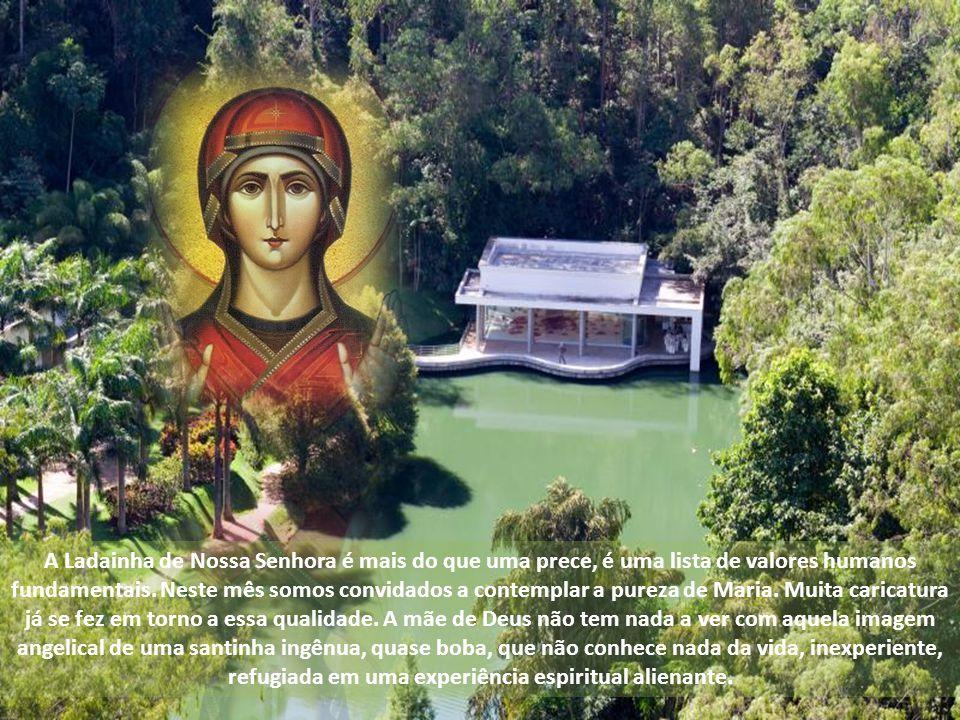 A Ladainha de Nossa Senhora é mais do que uma prece, é uma lista de valores humanos fundamentais.