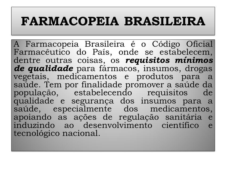 FARMACOPEIA BRASILEIRA