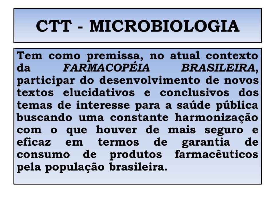 CTT - MICROBIOLOGIA