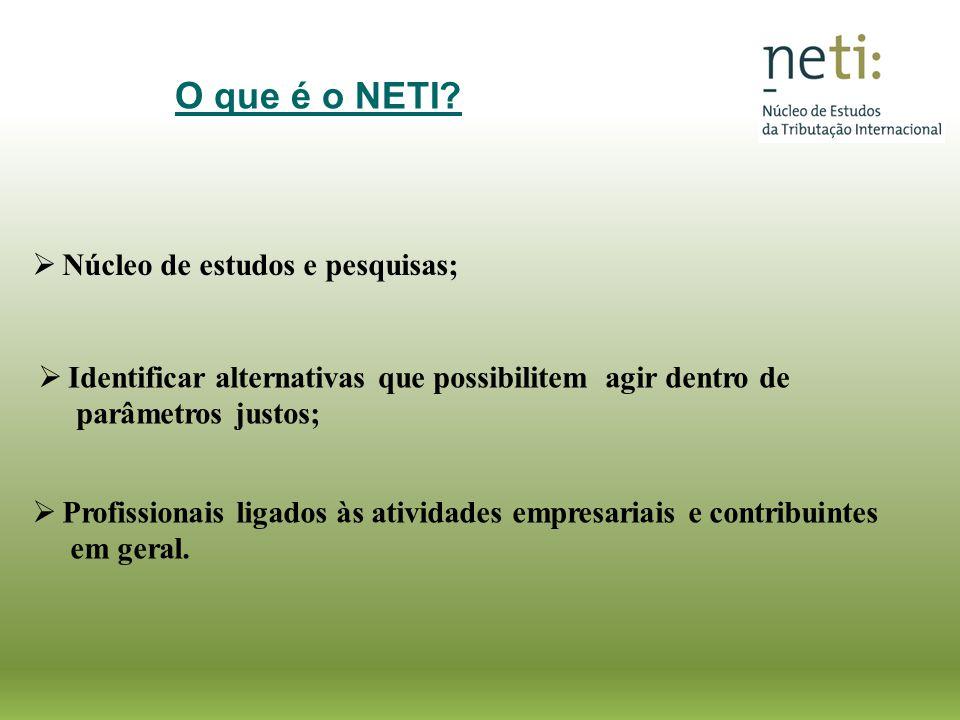 O que é o NETI Núcleo de estudos e pesquisas;