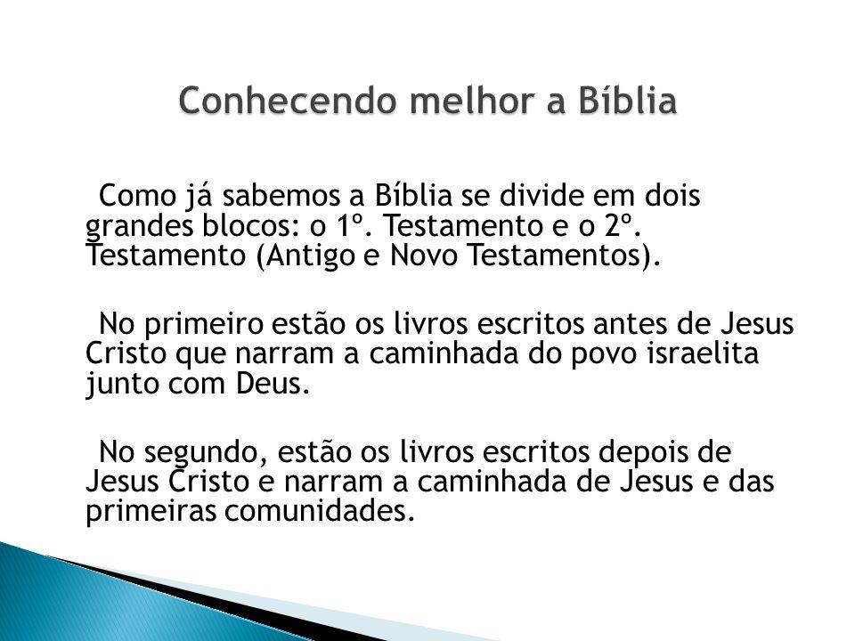 Conhecendo melhor a Bíblia