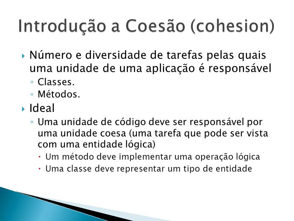 Introdução a Coesão (cohesion)