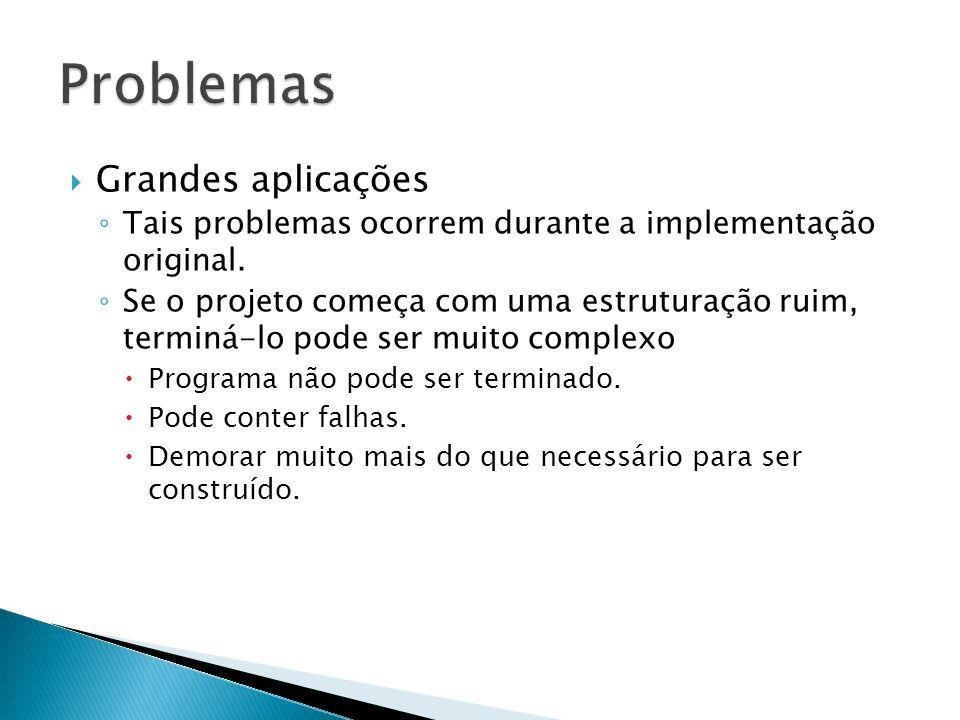 Problemas Grandes aplicações
