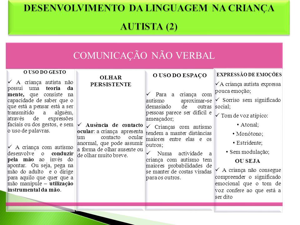 DESENVOLVIMENTO DA LINGUAGEM NA CRIANÇA AUTISTA (2)